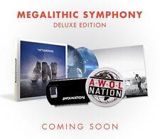 Megalithic Symphony Deluxe - Awolnation (2013, CD NEU)2 DISC SET