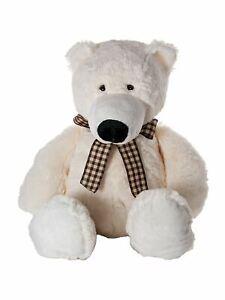 Mousehouse 42cm Adorable Plush Polar Bear Soft Toy Teddy Bear Stuffed Animal