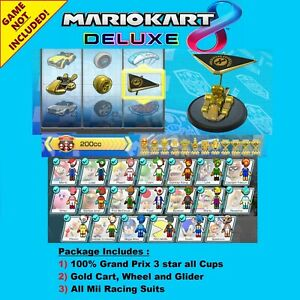 Mario Kart 8 Deluxe (Switch Cloud Save Edit) Service, NOT A GAME