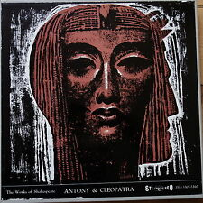 Argo ZRG 5301-10 Shakespeare Antony & Cleopatra 4 LP box set