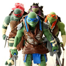 "Teenage Mutant Ninja Turtles Moive Set 4 Pieces PVC Action Figure Toy Doll 12""H"