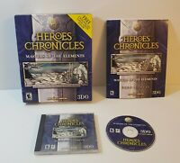 Heroes Chronicles: Masters of the Elements PC 2000 windows PC BIG BOX game