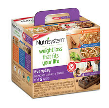 Nutrisystem Everyday 5 Day Weight Loss Kit Diet Food Meal Breakfast Lunch Dinner