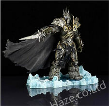 World of Warcraft WoW Arthas Menethil Lich King Deluxe PVC Figure Model 21CM