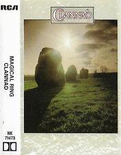 CLANNAD MAGICAL RING CASSETTE ALBUM GERMANY Acoustic, Ambient, Neofolk