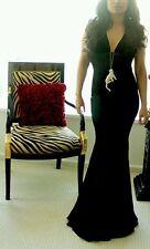 2k BNWT BLK Giorgio Armani - Long evening dress, XS