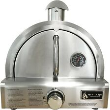 Mont Alpi Silver Stainless Steel Portable Pizza Oven Silver