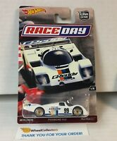 Porsche 962 RACE DAY * Hot Wheels Car Culture * YA20