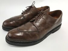 Paraboot Avignon Norwegian Welt Leather Shoes Derby Oxford Split Toe Mens Sz 9.5
