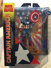 Marvel Select Captain America Disney Exclusive Figure Opened