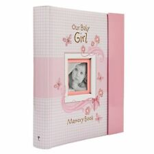 Christian Art Gifts MBB002 Our Baby Girl Memory Book