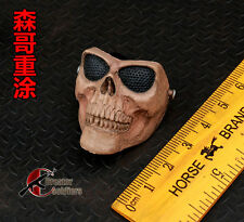 "1/6 Scale Hot Skull Mask For 12"" Action Figure Toys"