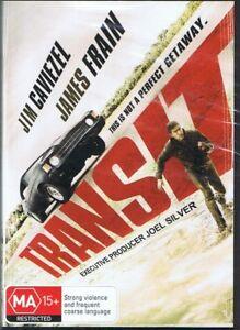 TRANSIT DVD Jim Caviezel & James Frain NEW & SEALED Free Post