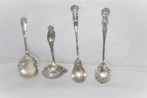Sterling silver, Manchester Mfg., 4 serving pieces