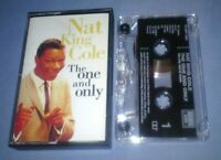 NAT KING COLE THE ONE AND ONLY cassette tape album T6309