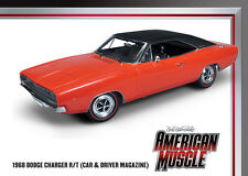 1968 Charger R/T Red 1:18 Auto World 988