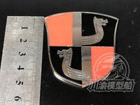 Metal Badge Heraldry WWII German Battleship Tirpitz Model Ship Display CYH002