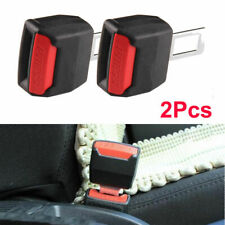 Black Car SUV Seat Belt Buckle Clip Extender Safety Alarm Stopper Replacement
