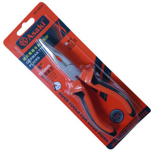 "ASAKI - 6"" Long Nose Pliers Electrical Quality Tools"
