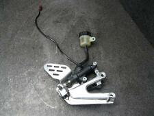 05 Yamaha YZF R6 Right Driver Peg & Bracket 89B