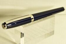 Dupont Fidelio dark blue laquer - palladium fountain pen boxed