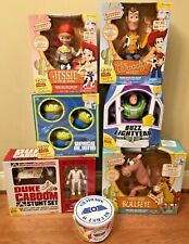 Thinkway Disney Toy Story Signature Collection Woody, Buzz Lot of 7, Brand New