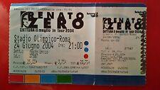 CONCERTO DI RENATO ZERO - ROMA STADIO OLIMPICO - CATTURA IL MEGLIO - TOUR 2004