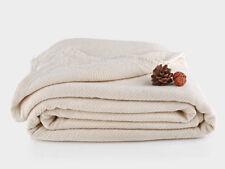 Organics and More Cotton Chenille Herringbone Blanket - King - Natural - KGCHB-1