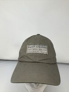 FILSON Lightweight Angler Cap Light Olive Low-Profile One Size Fits Most🔥🔥🔥🔥