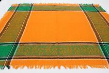 Naranja & Verde - 66cm Cuadrado Bufanda Envolvente