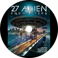 27 Alien Encounters (2016) Documentary Dvd