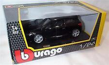 Burago - Volkswagen VW SCIROCCO R (Black) - Die Cast Model - Scale 1:24