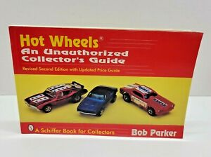 Hot Wheels An Unauthorized Collector's Guide Book Bob Parker 1996 2nd Ed.  Cars