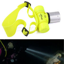 New 3500Lm T6 LED Waterproof Underwater Diving Head light Lamp Flashlight Torch