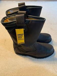 Dewalt Rigger men's steel toe work boots   brown   size 11   new