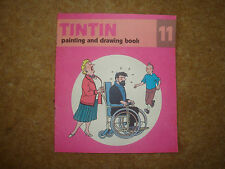Tintin Painting and Drawing Book No. 11 - First Edition - extremely rare