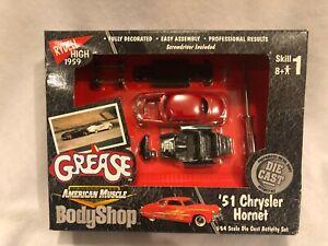Ertl Grease 1951 Chrysler Hornet 1959 Rydell High Body Shop 1:64 NEW NIB