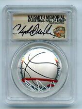 2020 S $1 Colorized Basketball Commemorative PCGS PR70DCAM FDOI Clyde Drexler