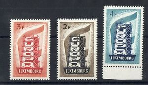 Luxembourg: Complete Set Of 3 Stamps New N°514/516 Value