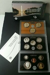 2016 United States Mint Silver Proof Set
