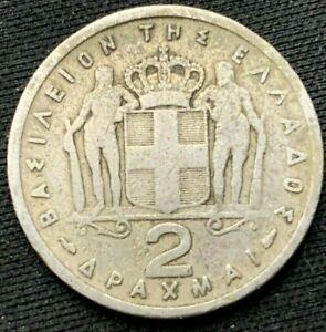 Greece Coin  2 DRACHMAI  1954  Condition Rarity   #K153