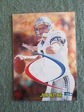 1998 Collectors Edge Odyssey Prodigies PROOF- BLANKBACK ERROR Jon Kitna Seahawks