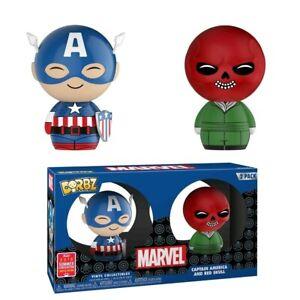 Captain America - Captain America & Red Skull SDCC 2018 US Exclusive Dorbz 2-...