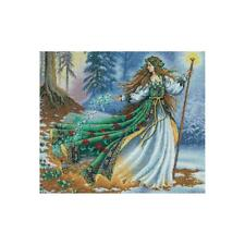 """Dimensions Gold Collection Counted Cross Stitch Kit Woodland Enchantress 12""""X14"""""""