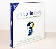 SIMPLY BILLIE HOLIDAY [2 CD / 2009] 0698458022325