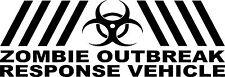 Zombie brote equipo de respuesta Funny car/ipad Jdm Vw Euro Vinilo Autoadhesiva De 15