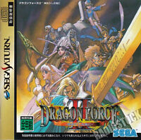 (Used) Sega Saturn Dragon Force 2  [Japan Import]