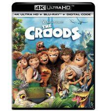The Croods (4K UHD+Blu-ray+Digital) Factory Sealed PRE-ORDER 11-17-20