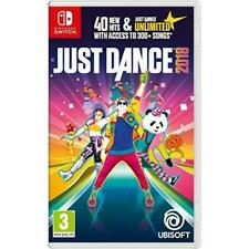 Just Dance 2018 (Nintendo Switch,2017) BOX ONLY No Game