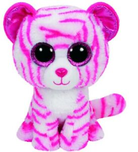 NEW Beanie Boos - Asia The Pink & White Tiger Large from Mr Toys